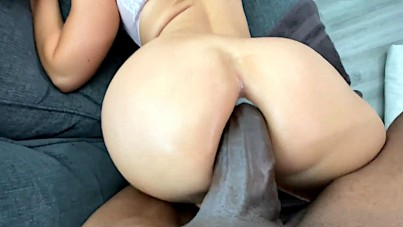 Drilling Her Ass Like Never In The Past