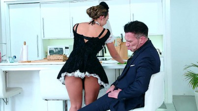I Admire My Dirty Hairy Maid Very Much