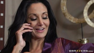 Brazzers - Spying Touching Her New Fucking Bath - Mommy Got Boobs
