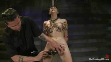 Kink - Too Much Clothespins For Her Limited Tits... - Fucking Training Fucked O